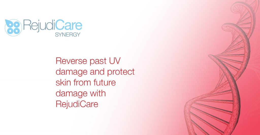 Reverse past UV damage and protect skin from future damage with RejudiCare